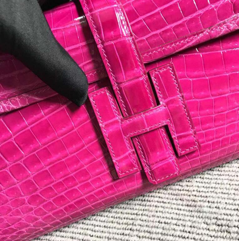Hermès(爱马仕)长款钱包 原版品质 桃红色