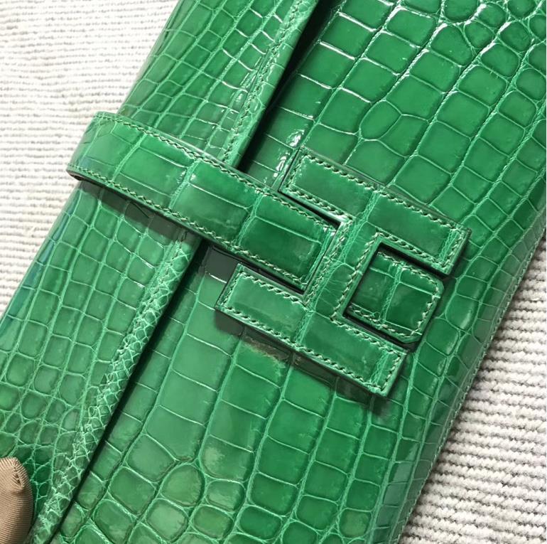 Hermès(爱马仕)长款钱包 原版品质 仙人掌绿