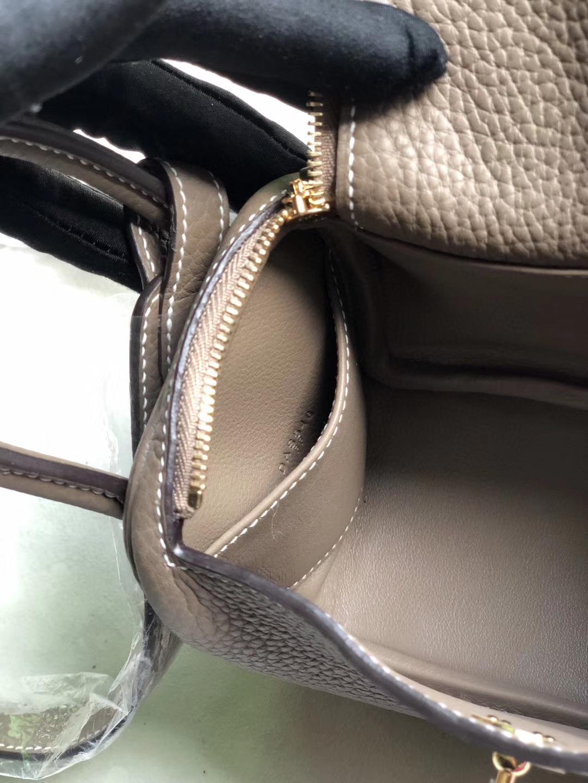 Hermès(爱马仕)Mini lindy 20cm ck18大象灰 Etoupe  金扣 银扣 顶级手缝 小可爱