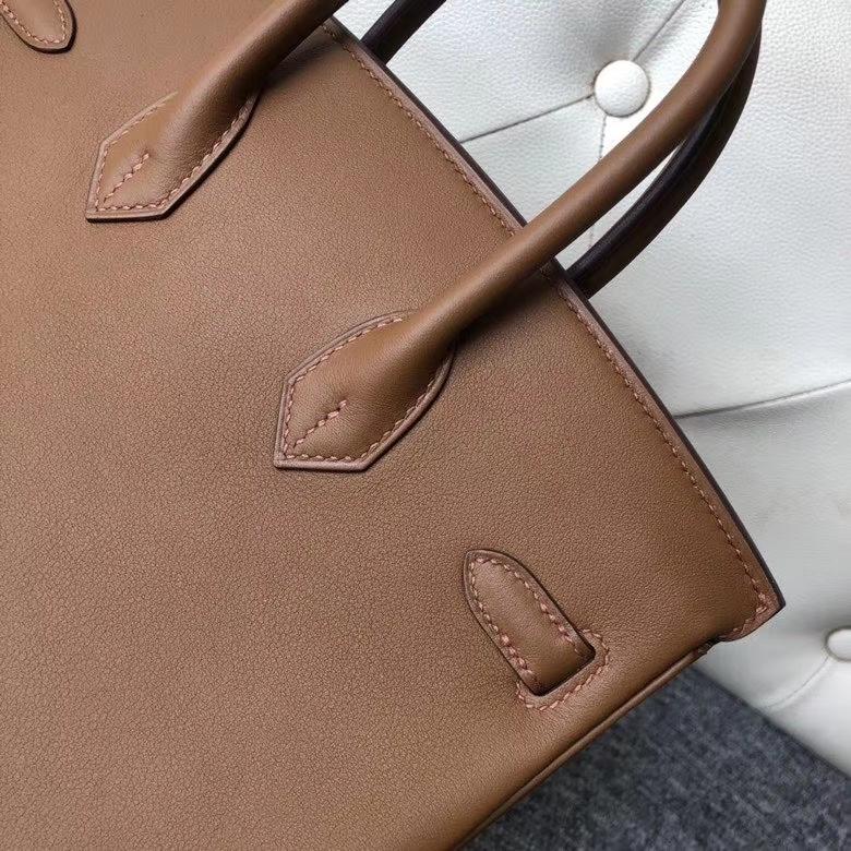 Hermès(爱马仕)Birkin 25cm Evecolor  D0 犬米色 金扣 顶级手缝 现货