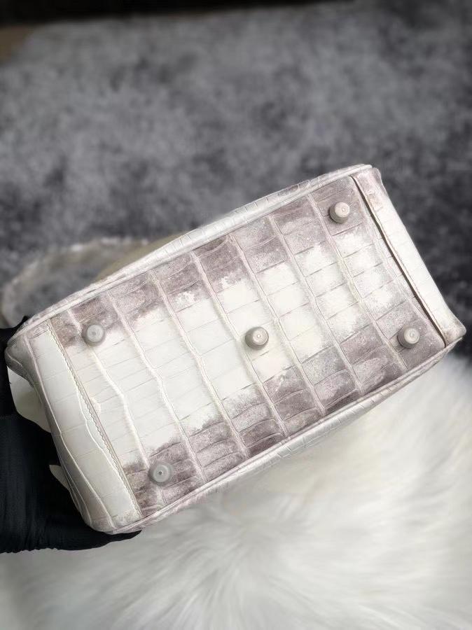 Hermès(爱马仕)Lindy 26cm Himalaya 喜马拉雅 银扣 空压 定制