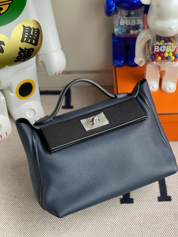 Hermès(爱马仕)Kelly2424 29cm 2Z午夜蓝 客订