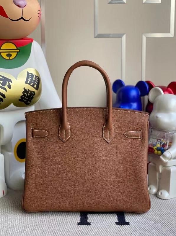 Hermès(爱马仕)Birkin 铂金包 原厂小牛皮 togo ck37金棕色 gold 金扣 25cm 现货