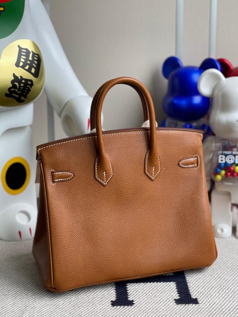Hermès(爱马仕)Birkin 铂金包 马鞍皮ck37 金棕色 金扣 25cm 顶级手缝 现货