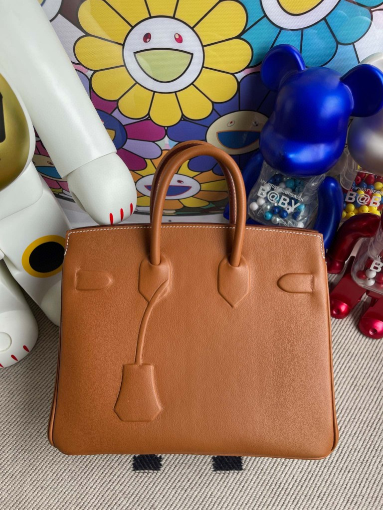 Hermès(爱马仕)Birkin 铂金包 Shadow ck37 金棕色 Gold 25cm 顶级手缝 超美